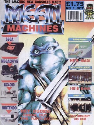 Mean Machines & Mean Machines Sega Magazine Complete Collection PDF On DVD ROM
