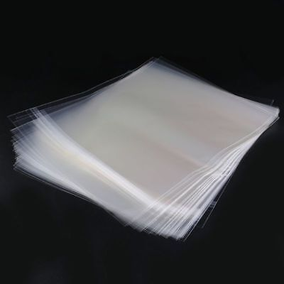 50 Resealable 4 Mil Vinyl Plastic Record Outer Sleeves For 12'' LP GATEFOLD 2LP