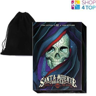 Santa Muerte Oracle Cards Deck By Fabio Listrani Telling Lo Scarabeo With Bagnew