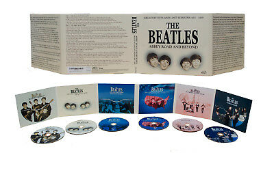 The Beatles-Abbey Road And Beyond:hits And Lost Sessions 1962-'66 - 6 Cd Set