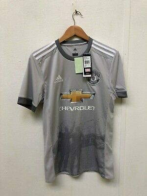 Man United FC adidas Men's 2017/18 3rd Shirt - S - Alexis 7 - New with Defects
