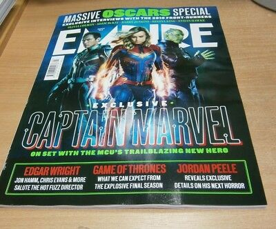 Empire Magazine MAR 2019 Captain Marvel, Edgar Wright, Oscars, Kenneth Branagh &