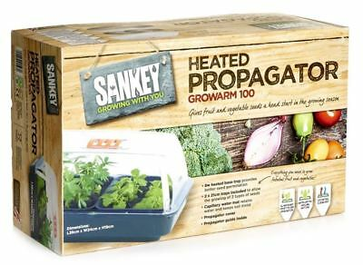 Sankey Heated Propagator Growarm 100 38cm Electric Seed Propagator Kit UK
