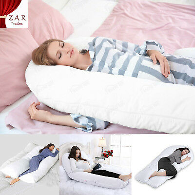 9ft 12ft U Comfort Soft Pillow Body Back Support Nursing Maternity Pregnancy New