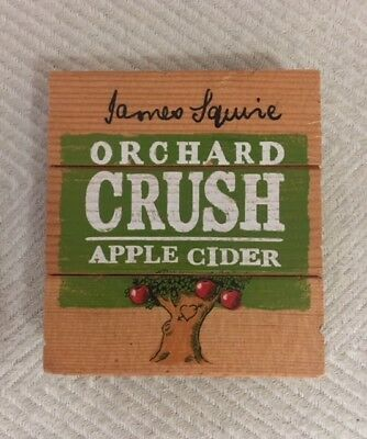 Tap Beer Decal James Squire Cider Badge Top Wooden Orchard Crush FREE POSTAGE!