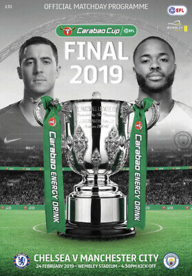 Programme : Manchester City v Chelsea - Carabao Cup Final - 24 February 2019