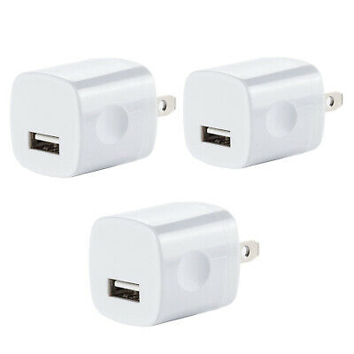3x USB Wall Charger Plug AC Home Power Adapter For iPhone 6 7 8 X Samsung LG HTC