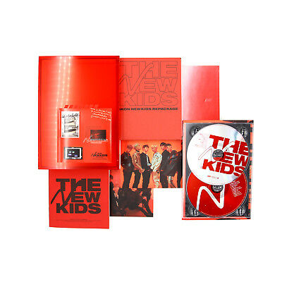[IKON]NEW KIDS REPACKAGE Album:THE NEW KIDS[Red ver ]/No Photocard, No  Keyring