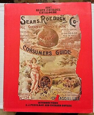 1897 SEARS ROEBUCK CATALOGUE By Fred Israel ~ Hardcover ~ *FINE Condition*