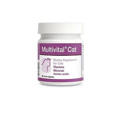 Multivital Cat 90 mini tabs Vitamins Minerals Amino acids including Taurine
