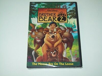 Brother Bear 2 (DVD movie ) NEW SEALED Walt Disney kids family film RATED G