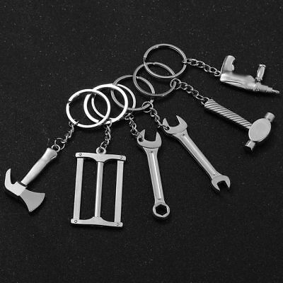 2Pcs//Set Multi Tool Key Ring Screwdriver Outdoor Pocket Tool Set With KeychainsH