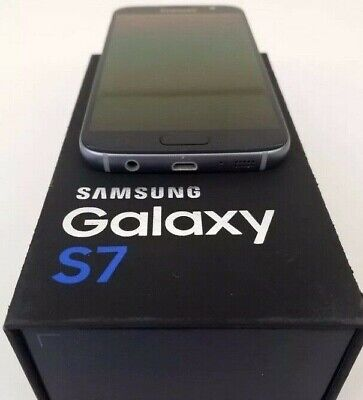 Samsung Galaxy S7 32GB SM-G930U Black/Gold GSM Internationally Unlocked Sale!