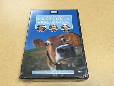All Creatures Great & Small Complete Series 4 Collection (3 DVD's, 2004) NEW!