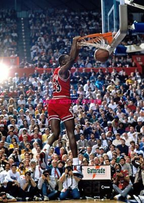 "MICHAEL JORDAN - Dunk - NBA Poster 24"" X 36""- NEW 4"
