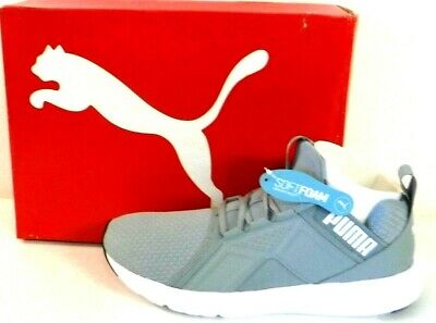c08b64d56f4f PUMA STATES MENS Trainers Grey Leather Unisex Low Shoes 358810 03 ...