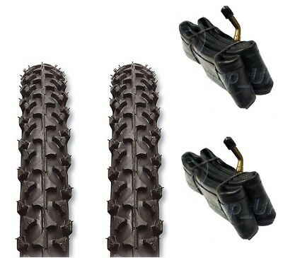 2 x Tyres Fits Prams Out n About Nipper 12 1/2 x 2 1/4 & '2 x FREE TUBES'