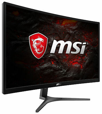 "MSI Optix G24VC 23.6"" FHD Curved Gaming Monitor, 75Hz, Wide View, True Colors"