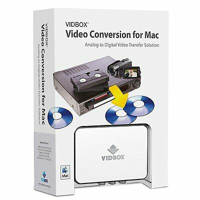 """Convert Transfer Old VHS Tapes, Beta, 8mm, Camcorder Tapes to DVD for """"Mac"""""""