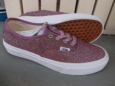 bb6dc4051af Nwt Women s Vans Authentic (Lurex Glitter) Sneakers shoes.size 7.new