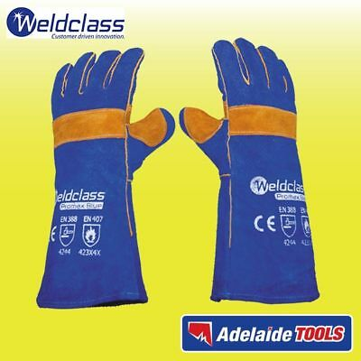 Weldclass 400mm PROMAX BLUE Welding Gloves