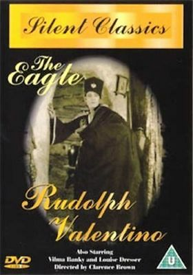 The Eagle Rudolph Valentino Vilma Banky Louise Dresser Regionfree Dvd New Sealed
