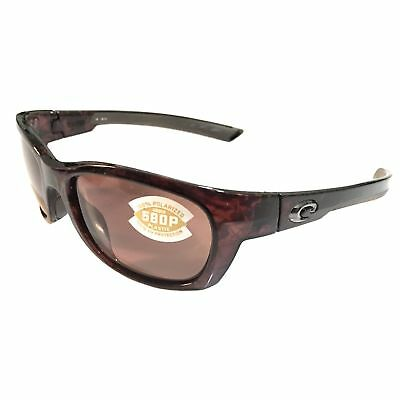 b3a1399719 NEW Costa Del Mar Trevally Sunglasses - Shiny Tortoise - POLARIZED Copper  580P