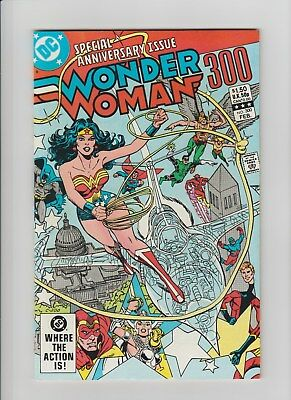 Wonder Woman #300 (Feb 1983, DC) NM (9.4) 300th. Anniversary Issue !!!!!!