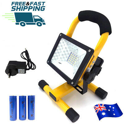 24 LED Camping Fishing Light Rechargeable Portable Outdoor Work Flood Spot Lamp