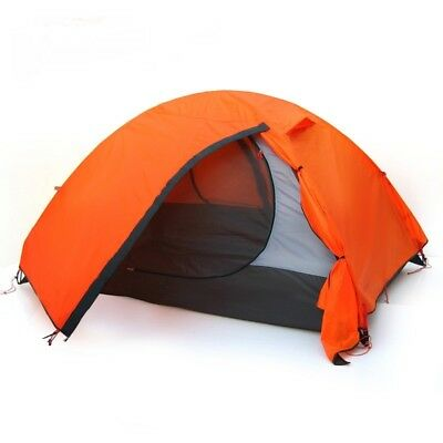 Tent Waterproof Double Layer 2 3 Person Outdoor Camping Hiking Beach Travel