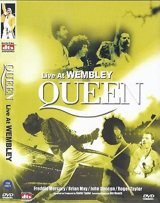 Queen: Live at the Wembley Stadium (1986) DVD NEW *FAST SHIPPING*