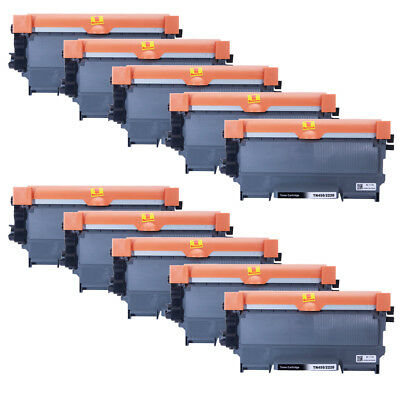 10x For Brother TN-450 Black Toner Cartridge High Yield HL-2240 2270DW MFC-7360N