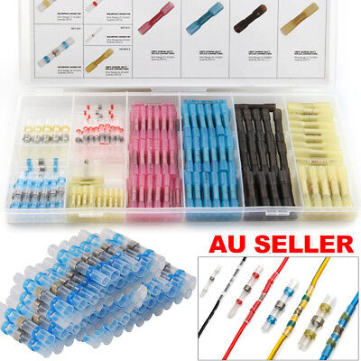 7 Styles Waterproof Heat Shrink Butt Wire Crimp Connectors Insulated Terminals