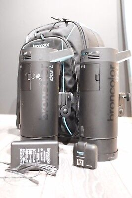 Broncolor Siros L 800Ws Battery Powered Outdoor Kit