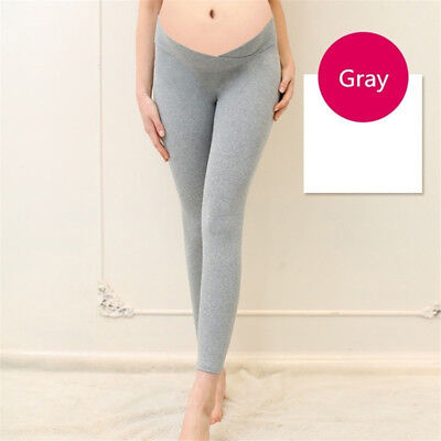 Women Low Waist Pregnancy Belly Pants Maternity Casual Trousers Leggings LH