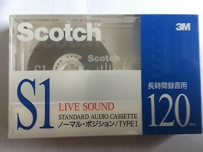 Scotch S1 120 Factory Sealed Audio Cassette Japan