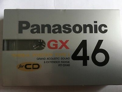 Parasonic Gx 46 Factory Sealed Audio Cassette Japan
