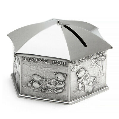 NEW Royal Selangor Teddy Bears' Picnic Rainy Day Money Box