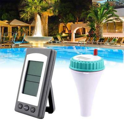 Wireless Remote Floating Thermometer Swimming Pool Waterproof New Tub Pond Pop