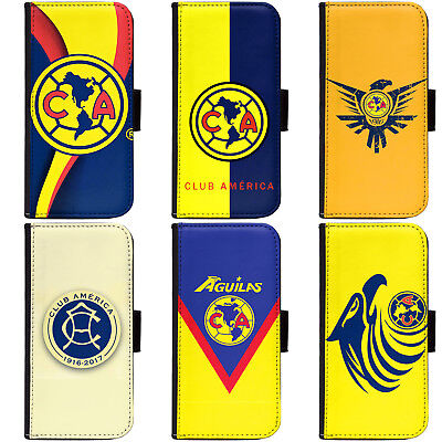 PIN-1 Club America Phone Wallet Flip Case Cover for All Models