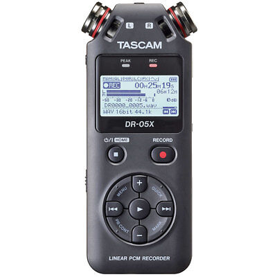 Tascam DR-05X tragbarer Audio-Recorder mit Interface-Funktion