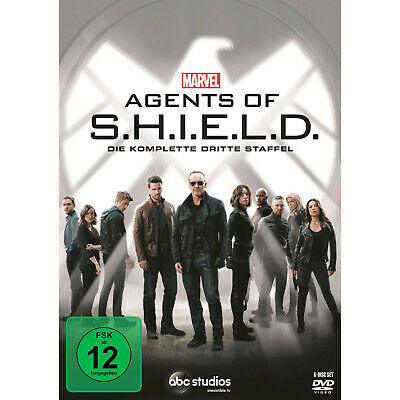 Marvel Agents Of S.h.i.e.l.d. - 3. Staffel [DVD]
