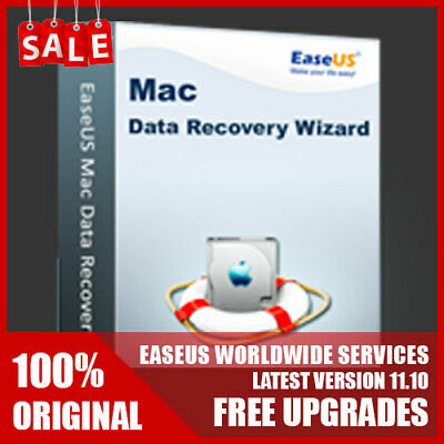 EaseUS Data Recovery Wizard for Mac v11.8 - LIFETIME License FREE Upgrade