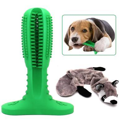 Pets Dog Toothbrush Brushing Stick Teeth Cleaning Chew Toy Brush Oralcare USA