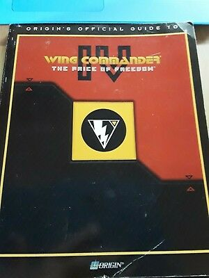 WING COMMANDER IV: The Official Strategy Guide (ORIGINS) THE PRICE OF FREEDOM