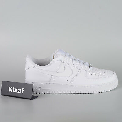 big sale ef2c0 83040 Nike Air Force 1  07 AF1 Men Lifestyle Sneakers Shoes New White 315122-111