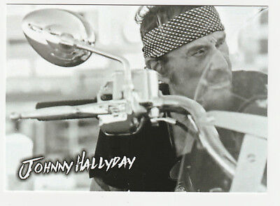 JOHNNY HALLYDAY carte postale n° ATHQ 329 (retro)