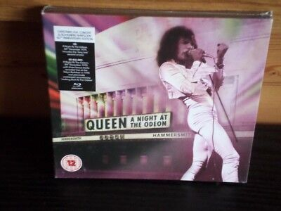 Queen - A Night At The Odeon (40TH ANIVERSARY) [CD+BLURAY] (New and Sealed)