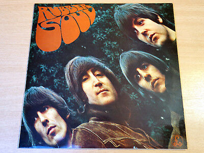 EX/EX !! The Beatles/Rubber Soul/1965 Parlophone Stereo LP/Black & Silver Labels