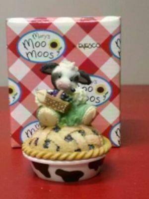 ❤BLUEBERRY PIE❤Mary's Moo Moos❤ COW 2 PIECE SET❤YOU'RE BERRY SPECIAL